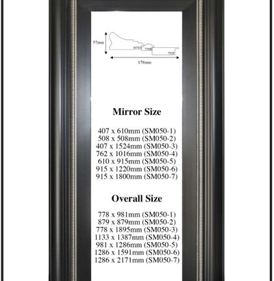 Custom Made Up Mirrors - Modern Styles